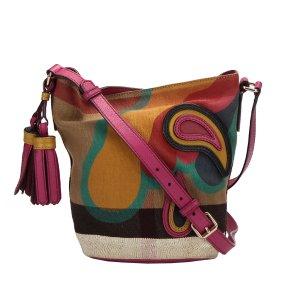 Burberry Printed Canvas Crossbody Bag