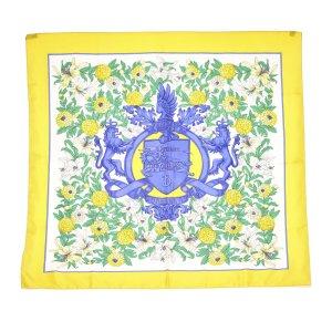 Burberry Sjaal geel Zijde