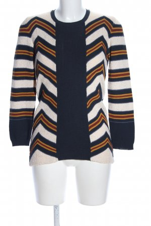 Burberry Prorsum Wollpullover grafisches Muster Business-Look