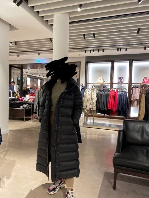 Burberry Down Coat black
