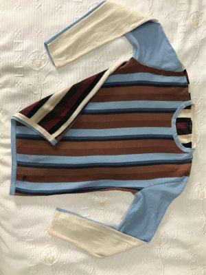 Burberry Sweter oversize Wielokolorowy Bawełna