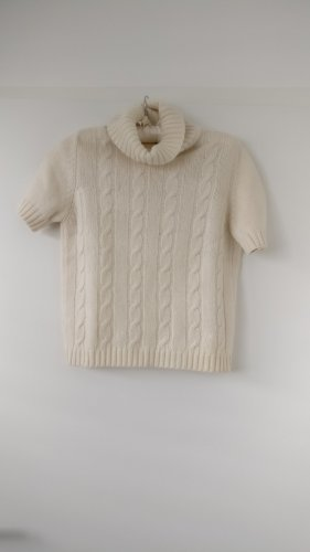 Burberry Turtleneck Sweater natural white