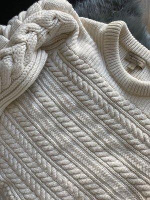 Burberry Pullover in cashmere crema-bianco sporco