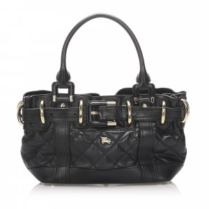 Burberry Quilted Leather Handbag