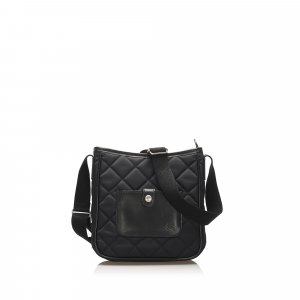 Burberry Quilted Nylon Crossbody Bag