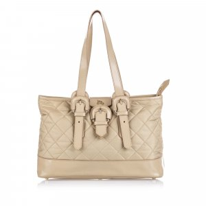 Burberry Quilted Nylon Tote
