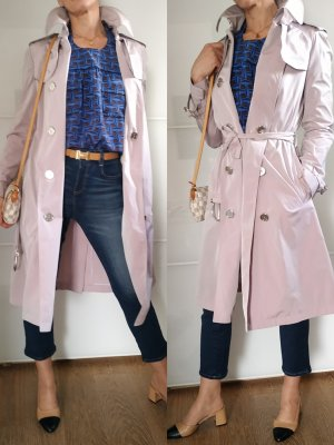 Burberry Trenchcoat stoffig roze-rosé
