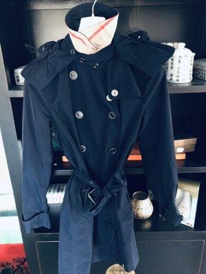 Burberry Raincoat dark blue