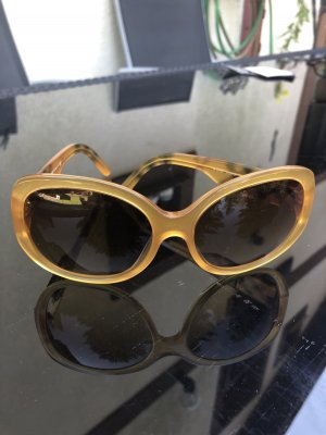 Burberry Retro Sonnenbrille in Bernstein, neu!! KP 260€
