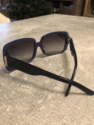 Burberry Angular Shaped Sunglasses dark blue