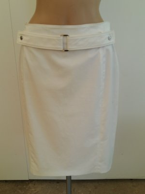 Burberry Midi Skirt white
