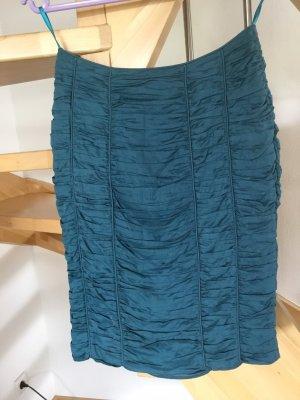 Burberry Mini-jupe bleu pétrole