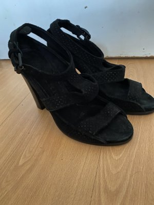 Burberry Strapped Sandals black