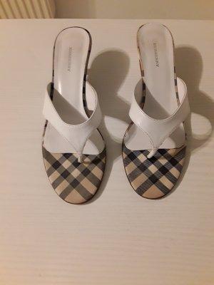 Burberry Flip-Flop Sandals multicolored