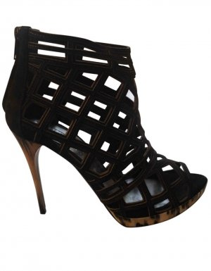 Burberry High Heel Sandal black