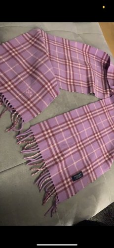 Burberry Woolen Scarf purple new wool