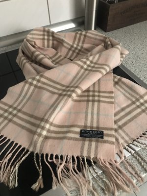 Burberry Fringed Scarf dusky pink