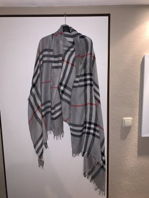 Burberry Hooded Scarf light grey-red