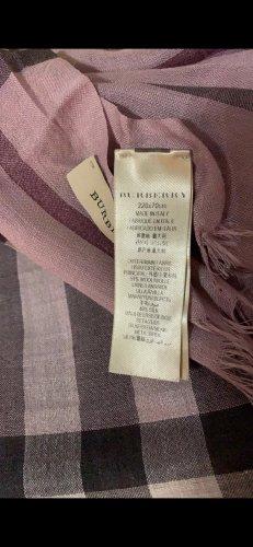 Burberry Zijden sjaal veelkleurig Zijde
