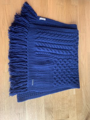 Burberry Écharpe en laine bleu