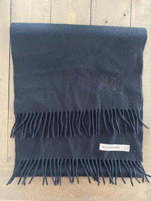 Burberry Écharpe à franges noir