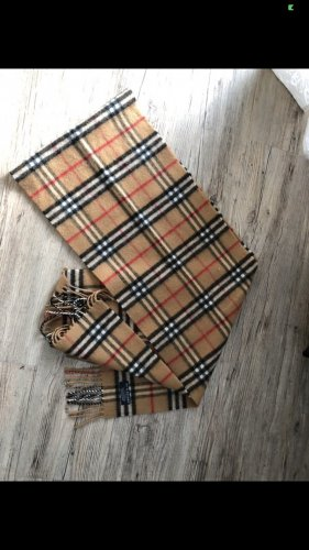 Burberry Knitted Scarf multicolored