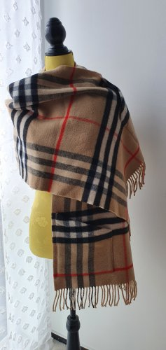 Burberry Cashmere Scarf sand brown-brown