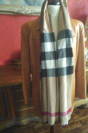 Burberry Sjaal van kasjmier brons-goud
