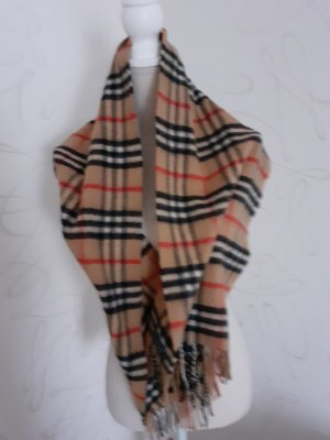 Burberry Cashmere Scarf light brown-brown