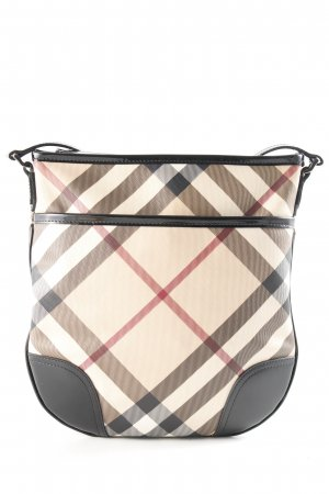 Burberry Schultertasche Karomuster Casual-Look
