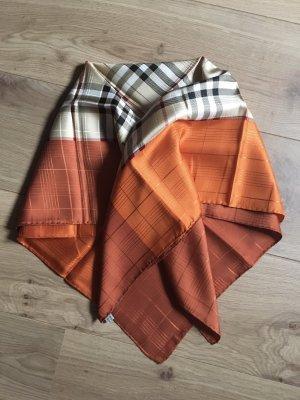 Burberry Zijden doek donker oranje-oranje