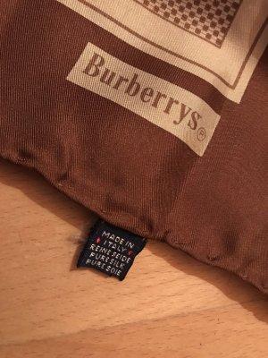 Burberry Fazzoletto da collo crema-marrone