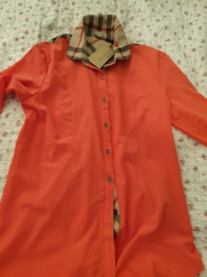 Burberry Long Sleeve Shirt multicolored viscose