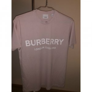 Burberry London T-Shirt dusky pink