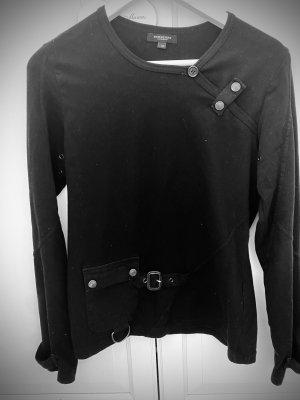 Burberry Koszulka basic czarny