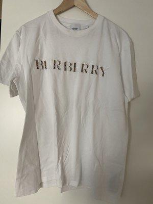 Burberry Shirt Tshirt L weiß