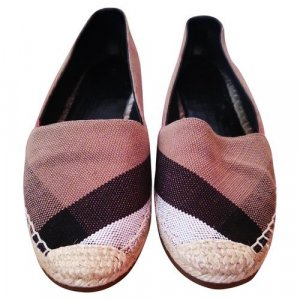 Burberry Slipper/Ballerinas aus Canvas