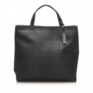 Burberry Smoke Check PVC Handbag