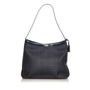 Burberry Shoulder Bag black polyvinyl chloride