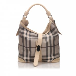 Burberry Smoke Check Shoulder Bag