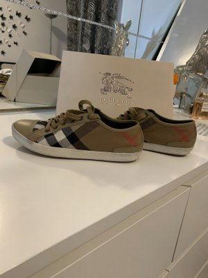 Burberry Lace-Up Sneaker multicolored
