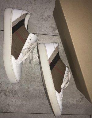 Burberry Sneakers met veters wit-beige