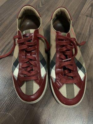 Burberry Sneaker slip-on bordeaux-beige