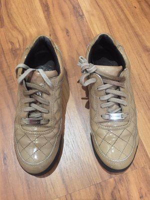 Burberry Sneakers met veters beige