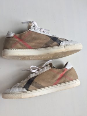 Burberry Lace-Up Sneaker multicolored leather