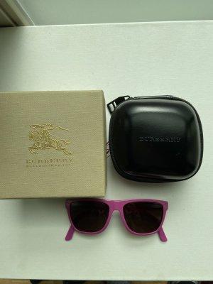 Burberry Gafas de sol ovaladas rojo frambuesa