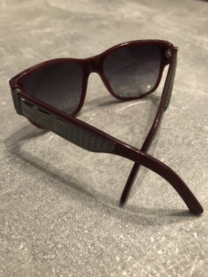 Burberry Retro Glasses bordeaux