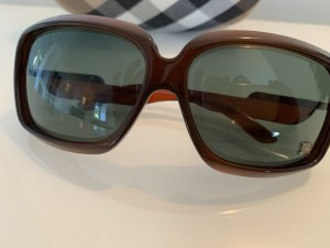 Burberry Hoekige zonnebril donkerbruin-bruin