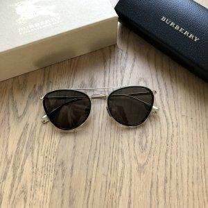 Burberry Pilotenbril zwart-goud
