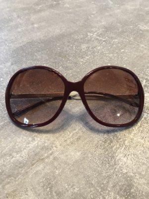Burberry Retro Glasses bordeaux